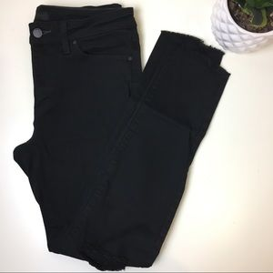 Uniqlo black skinny jeans